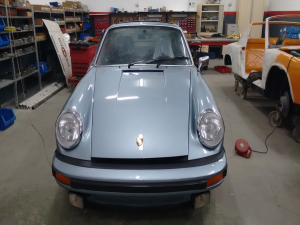PORSCHE 911 2.7 S CARRERA 1972 MARATHON BLUE