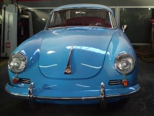Restauración Porsche 356 C de 1964